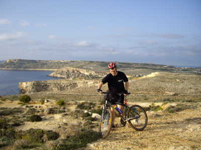 maltabookers.com Cycling Tours - Rugged Landscape